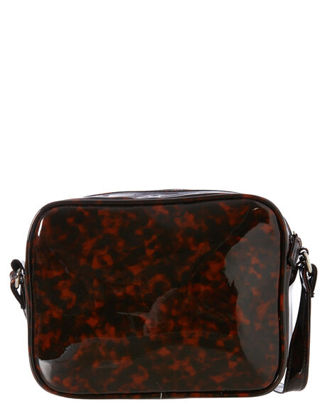 TORTOISE SHELL WOMENS ACCESSORIES RUSTY BAGS + BACKPACKS - BFL1074TOR