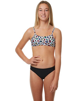 NEON KIDS GIRLS JETS SWIMWEAR - JB20059NEON