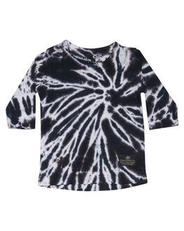 BLACK TYE DYE KIDS BABY MUNSTER KIDS CLOTHING - MI172TL01BLKTD
