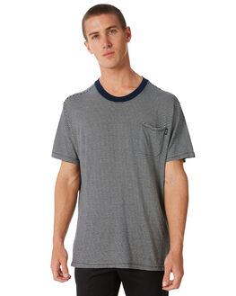 NAVY OUTLET MENS AFENDS TEES - M182028NAVY