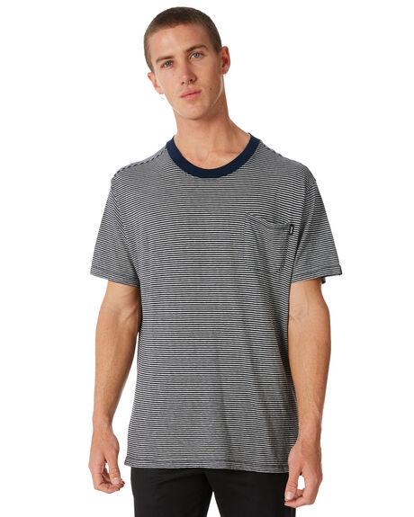 NAVY MENS CLOTHING AFENDS TEES - M182028NAVY