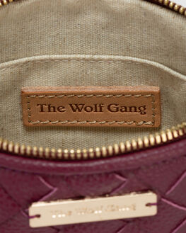 PLUM LEATHER WOMENS ACCESSORIES THE WOLF GANG BAGS + BACKPACKS - TWG20Q4A06PLML