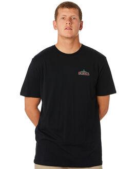 BLACK MENS CLOTHING SWELL TEES - S5194001BLACK