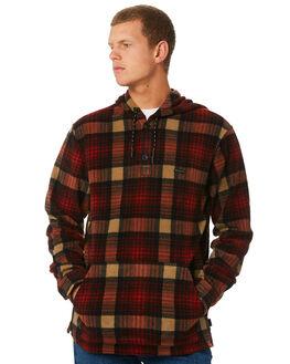 MAROON MENS CLOTHING BILLABONG JACKETS - 9595219MARON