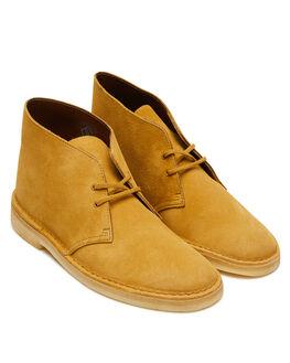 OAK SUEDE MENS FOOTWEAR CLARKS ORIGINALS BOOTS - SSDESERTBOOTOAKM