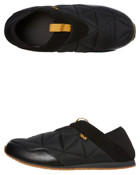 BLACK MENS FOOTWEAR TEVA SNEAKERS - T1018226BLK