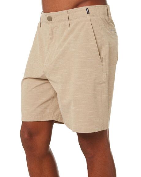 KHAKI MENS CLOTHING HURLEY SHORTS - CT1447235