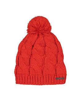 RED WOMENS ACCESSORIES BILLABONG HEADWEAR - BB-6607304-RED