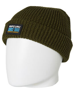 DARK OLIVE MENS ACCESSORIES RIP CURL HEADWEAR - CBNDG19389