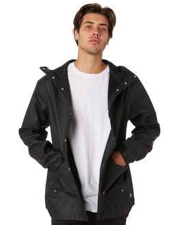 BLACK MENS CLOTHING HERSCHEL SUPPLY CO JACKETS - 15009-00022BLK