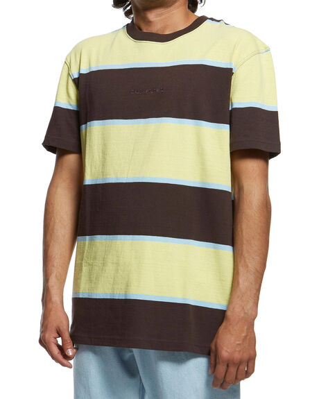 CHOCOLATE PLUM MENS CLOTHING QUIKSILVER TEES - EQYKT03903-CZH3