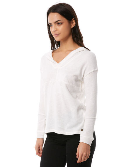MARSHMALLOW WOMENS CLOTHING ROXY TEES - ERJKT03367WBT0