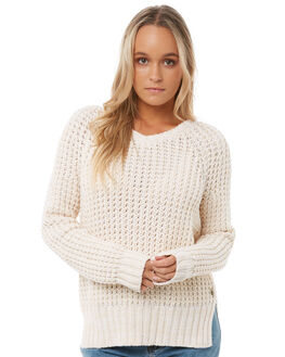 METRO HEATHER WOMENS CLOTHING ROXY KNITS + CARDIGANS - ERJSW03255TENH