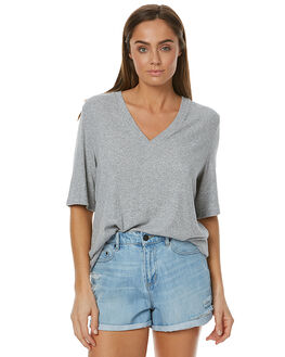 GREY MARLE WOMENS CLOTHING THE FIFTH LABEL TEES - TJ170555TGRY