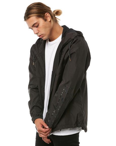BLACK MENS CLOTHING BILLABONG JACKETS - 9585901BLK