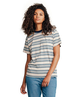 STORMY SEA WOMENS CLOTHING QUIKSILVER TEES - EQWKT03005-BLH3