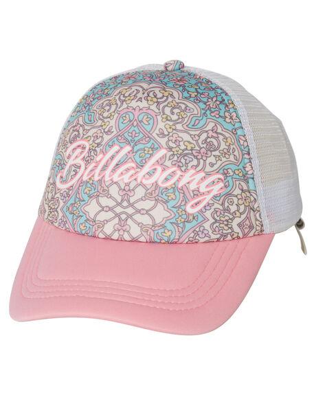 PINK KIDS GIRLS BILLABONG HEADWEAR - 5613306APNK