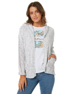 WHITE WOMENS CLOTHING RIP CURL KNITS + CARDIGANS - GSWAV71000
