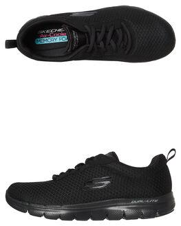BLACK BLACK WOMENS FOOTWEAR SKECHERS SNEAKERS - 12775BBK
