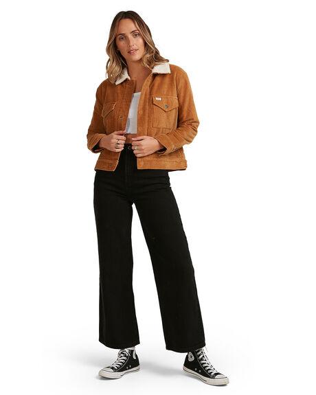 CAMEL WOMENS CLOTHING RVCA JACKETS - RV-R217435-CAM