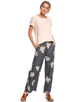 TURBULENCE ROSE WOMENS CLOTHING ROXY PANTS - ERJNP03227-KYM7
