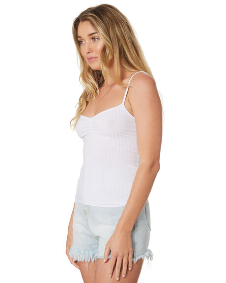 WHITE OUTLET WOMENS SWELL SINGLETS - S8189271WHITE
