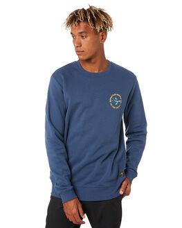 NAVY BLUE MENS CLOTHING DEPACTUS JUMPERS - D5203442NAVY