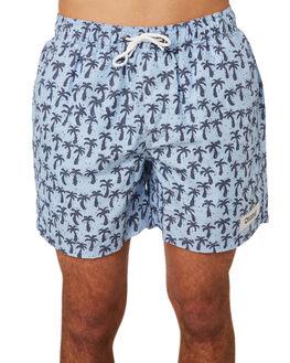 LIGHT BLUE MENS CLOTHING OKANUI BOARDSHORTS - OKCM1806LBLU