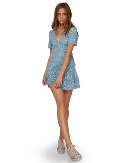BLUE HAZE WOMENS CLOTHING BILLABONG DRESSES - BB-6591477-BN4