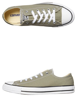 DARK STUCCO WOMENS FOOTWEAR CONVERSE SNEAKERS - SS159564STUW