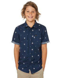 NAVY KIDS BOYS RIP CURL TOPS - KSHKI10049