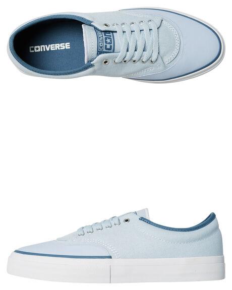 PORPOISE BLUE MENS FOOTWEAR CONVERSE SKATE SHOES - 155429PORP