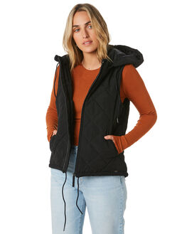BLACK WOMENS CLOTHING O'NEILL JACKETS - 5921510BLACK
