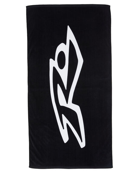 BLACK BOARDSPORTS SURF RUSTY TOWELS - TWM0161BLK
