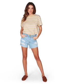 FADED DENIM WOMENS CLOTHING BILLABONG SHORTS - BB-6507274-FAM