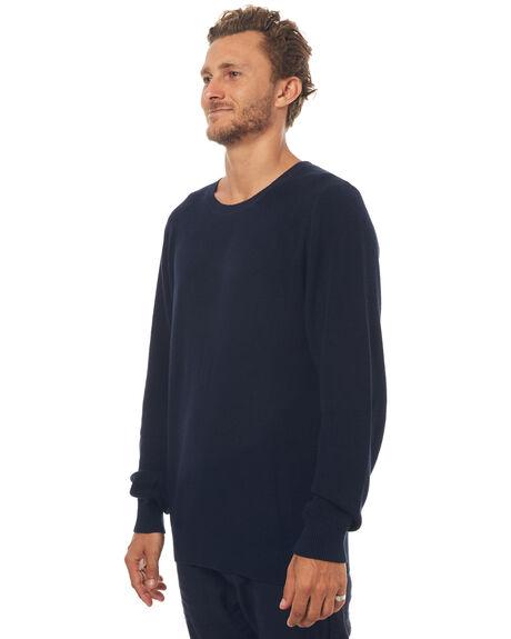 NAVY MENS CLOTHING RHYTHM KNITS + CARDIGANS - APR17-KN01NVY