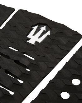 BLACK WHITE BOARDSPORTS SURF FAR KING TAILPADS - 1215BLKWH