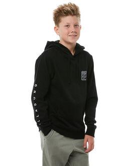 BLACK KIDS BOYS BILLABONG JUMPERS - 8585617BLK