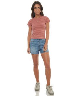 CANYON STONE WOMENS CLOTHING WRANGLER SHORTS - W-950952-EC2CST