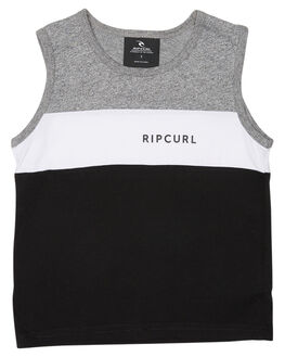 BLACK KIDS TODDLER BOYS RIP CURL TOPS - OTELR20090