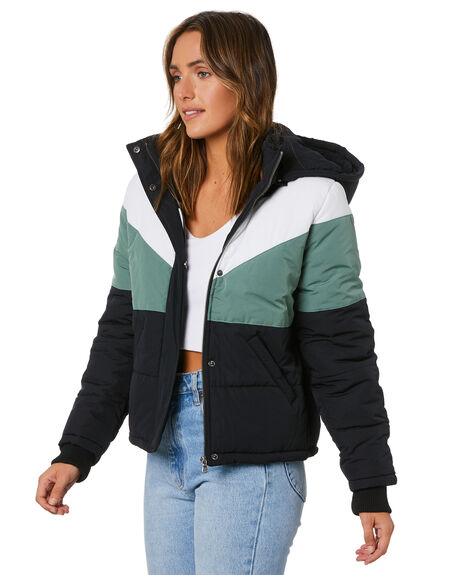 BLACK WOMENS CLOTHING ALL ABOUT EVE JACKETS - 6473070BLK