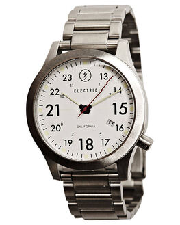 WHITE MENS ACCESSORIES ELECTRIC WATCHES - EW0010010002