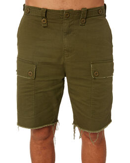 ARMY GREEN OUTLET MENS THRILLS SHORTS - TS8-300FARM