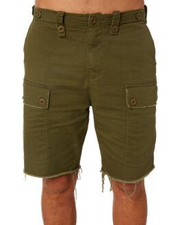 ARMY GREEN MENS CLOTHING THRILLS SHORTS - TS8-300FARM