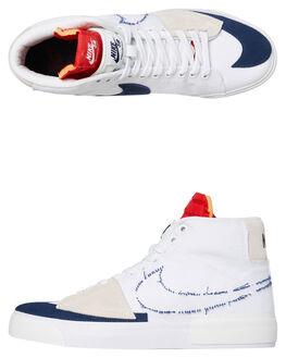 WHITE MENS FOOTWEAR NIKE SNEAKERS - CI3833-100