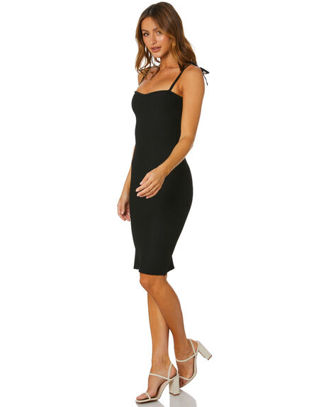 BLACK WOMENS CLOTHING SNDYS DRESSES - SFD530BLK