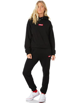 BLACK WOMENS CLOTHING STUSSY PANTS - ST186601BLK