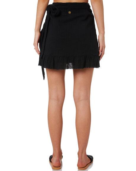 BLACK WOMENS CLOTHING RIP CURL SKIRTS - GSKDS10090