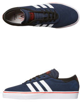 NAVY WHITE MENS FOOTWEAR ADIDAS ORIGINALS SKATE SHOES - BY3954NVY