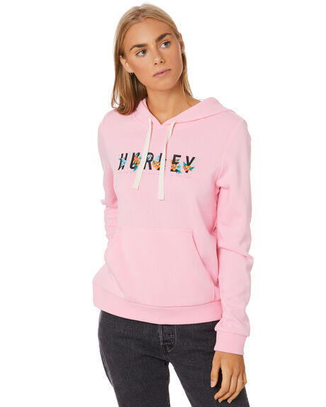 PINK WOMENS CLOTHING HURLEY JUMPERS - CT4720616